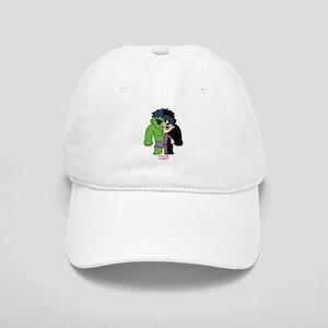 Chibi Hulk Half-and-Half Cap