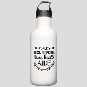 World's Most Awesome H Stainless Water Bottle 1.0L