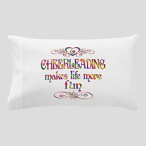 Cheerleading More Fun Pillow Case