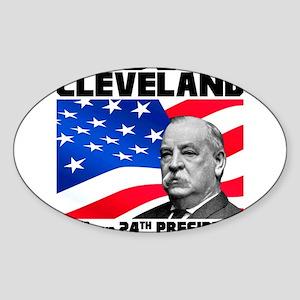 22 Cleveland Sticker (Oval)