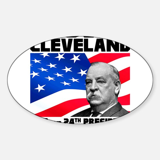 22 Cleveland Sticker (Oval)