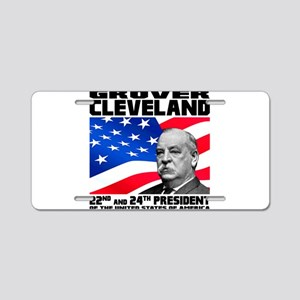 22 Cleveland Aluminum License Plate