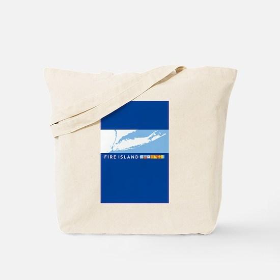 Fire Island - New York. Tote Bag