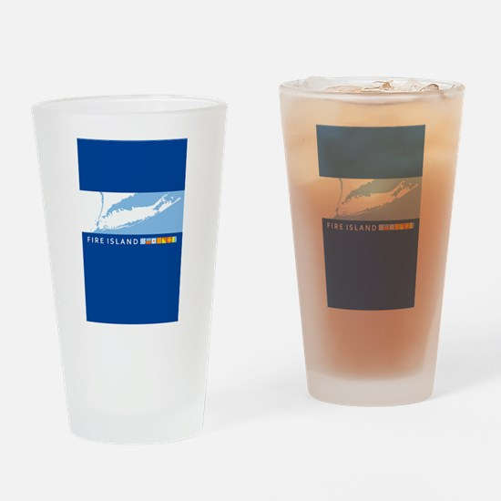 Fire Island - New York. Drinking Glass