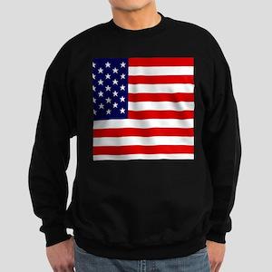 American Flag HQ Sweatshirt (dark)