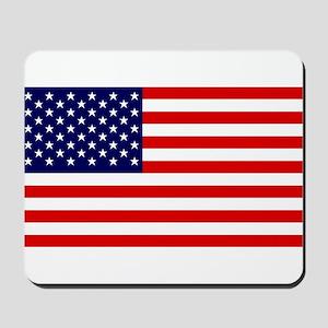 American Flag HQ Mousepad