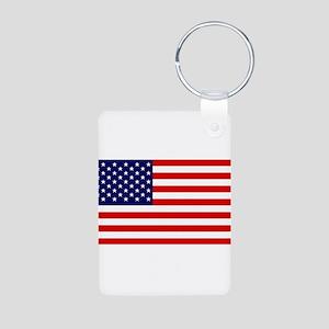 American Flag HQ Keychains
