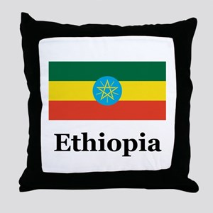 Ethiopia Throw Pillow