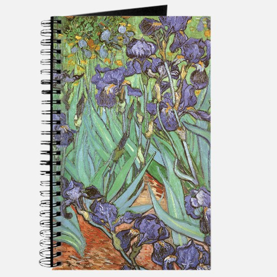 Van Gogh Irises, Vintage Post Impressionis Journal