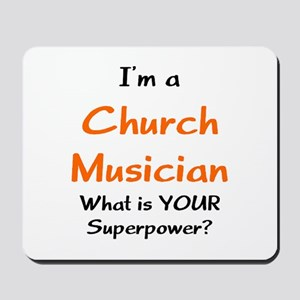 church musician Mousepad