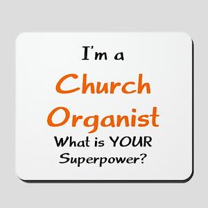 church organist Mousepad