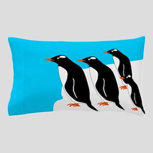 Gentoo Penguins Pillow Case