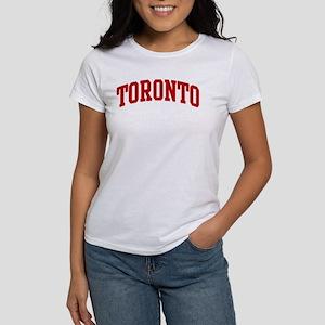 TORONTO (red) Women's T-Shirt