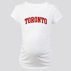 TORONTO (red) Maternity T-Shirt