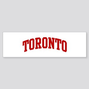 TORONTO (red) Bumper Sticker