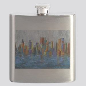 Hong Kong Island Flask