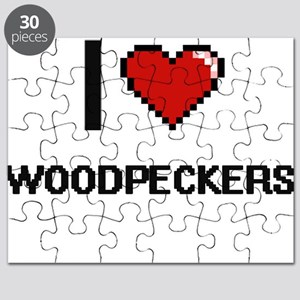 I love Woodpeckers Digital Design Puzzle