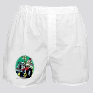 Zombie Hot Rod with Fez Boxer Shorts