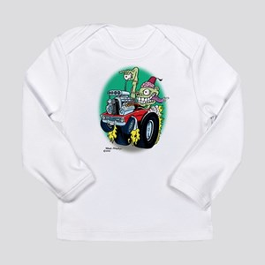 Zombie Hot Rod with Fez Long Sleeve T-Shirt
