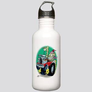 Zombie Hot Rod with Fe Stainless Water Bottle 1.0L