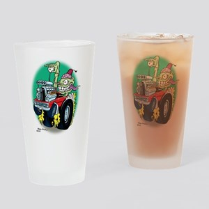 Zombie Hot Rod with Fez Drinking Glass