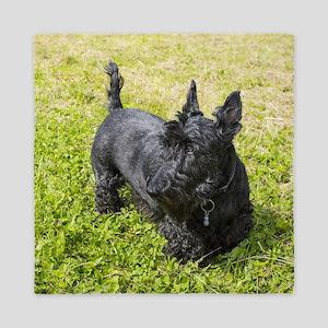 Scottie Dog Queen Duvet