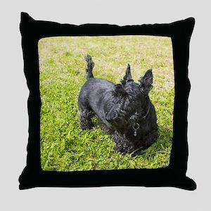Scottie Dog Throw Pillow