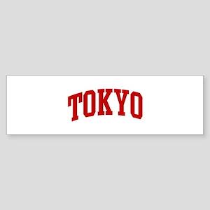 TOKYO (red) Bumper Sticker