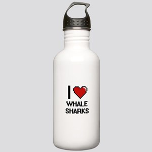 I love Whale Sharks Di Stainless Water Bottle 1.0L