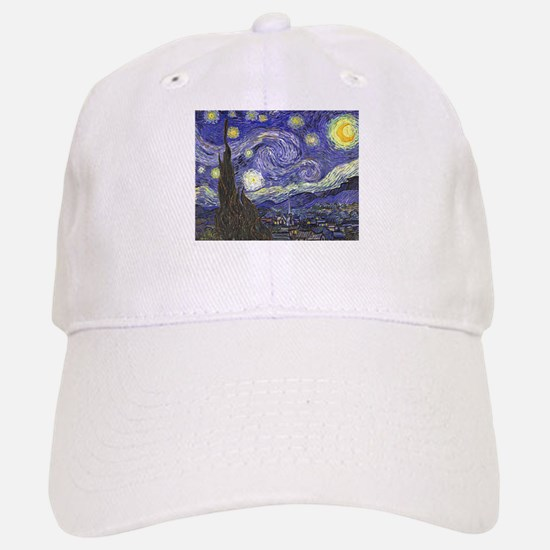 Starry Night by Vincent van Gogh Baseball Baseball Cap