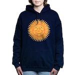 sun_face_2 Women's Hooded Sweatshirt