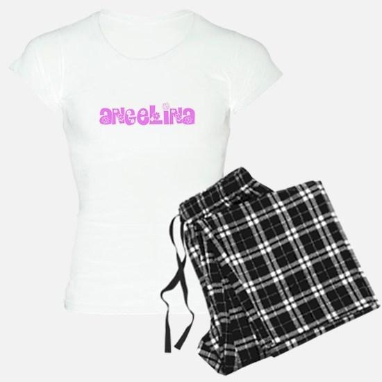 Angelina Flower Design Pajamas