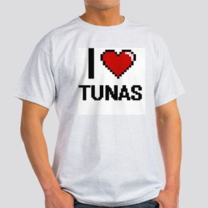 I love Tunas Digital Design T-Shirt