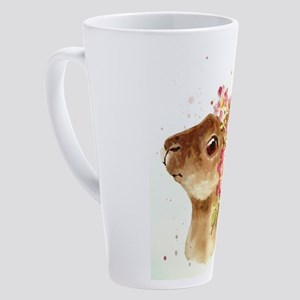 EASTER BUNNY WITH BONNET 17 oz Latte Mug