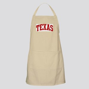 TEXAS (red) BBQ Apron