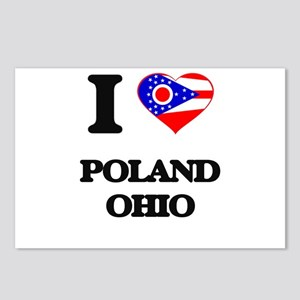 I love Poland Ohio Postcards (Package of 8)