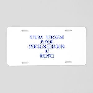 Ted Cruz for President 2016-Kon blue 460 Aluminum