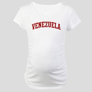VENEZUELA (red) Maternity T-Shirt