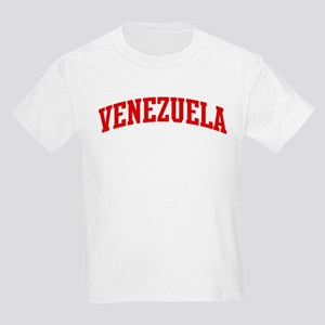 VENEZUELA (red) Kids Light T-Shirt