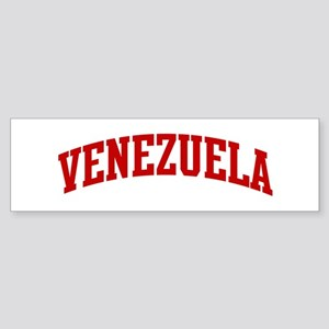 VENEZUELA (red) Bumper Sticker