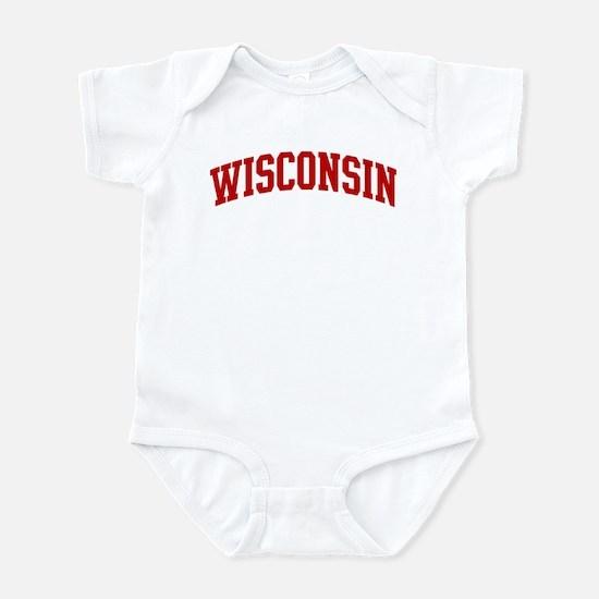 WISCONSIN (red) Infant Bodysuit