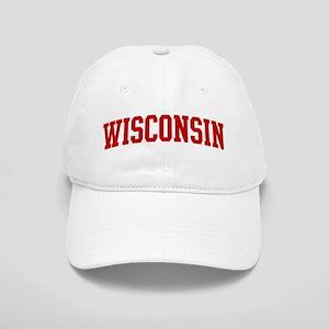 WISCONSIN (red) Cap