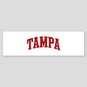 TAMPA (red) Bumper Sticker