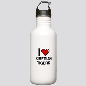 I love Siberian Tigers Stainless Water Bottle 1.0L