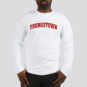 YOUNGSTOWN (red) Long Sleeve T-Shirt