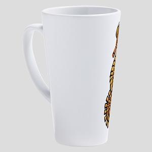 Steampunk Seahorse 17 oz Latte Mug