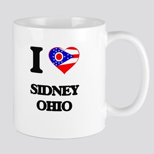 I love Sidney Ohio Mugs