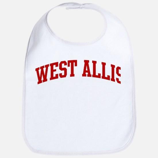 WEST ALLIS (red) Bib