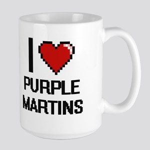 I love Purple Martins Digital Design Mugs