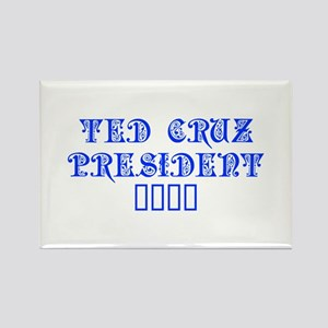 Ted Cruz President 2016-Pre blue 550 Magnets